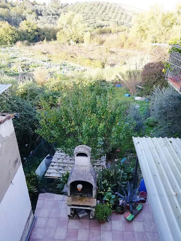 Appartamento con giardino in centro